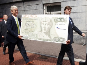Wilders brings the drachma back