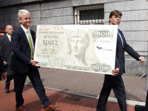 Wilders brings the drachma back